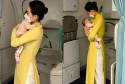 Bé 2 tháng tuổi được mẹ gửi từ châu Âu về Việt Nam khi dịch Covid-19 lan rộng