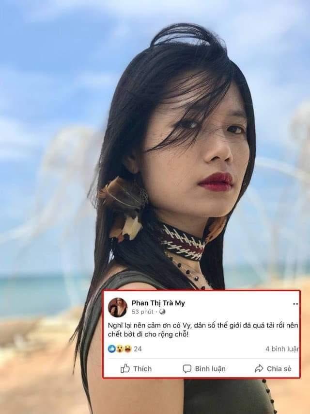 Loạt phát ngôn bị đánh giá vô cảm của diễn viên Trà My trước khi cảm ơn cô Vy giúp dân chết bớt-5