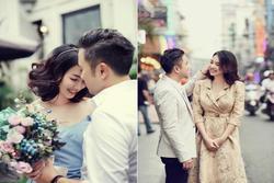 Kỷ niệm 4 năm ngày cưới, Đinh Ngọc Diệp chia sẻ loạt ảnh cũ với Victor Vũ