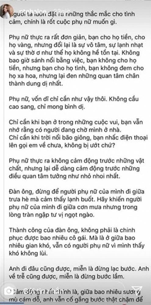 Vừa nối lại tình xưa với Quang Hải, Nhật Lê đã lên mạng dạy đàn ông cách yêu phụ nữ-3