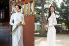 Bản tin Hoa hậu Hoàn vũ 12/3: H'Hen Niê mặc áo dài trắng, tóc tém hay tóc dài sẽ giúp cô xinh đẹp hơn?