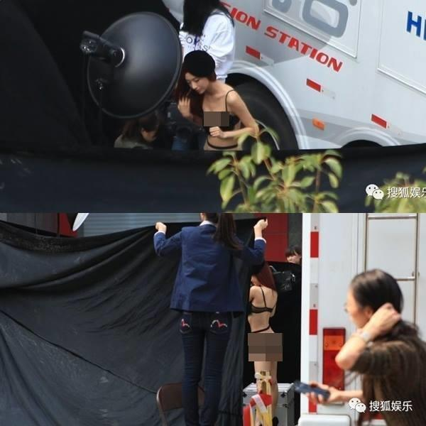 Bị chụp lén ảnh nhạy cảm: Nguy hiểm bủa vây sao Hoa ngữ-2