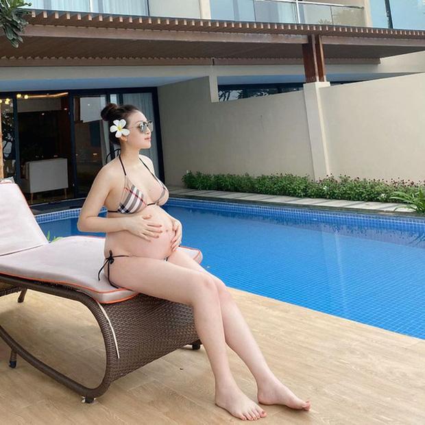 Hé lộ hình ảnh hiếm hoi về con gái mới sinh của rich kid đeo 200 cây vàng ở Nam Định-2