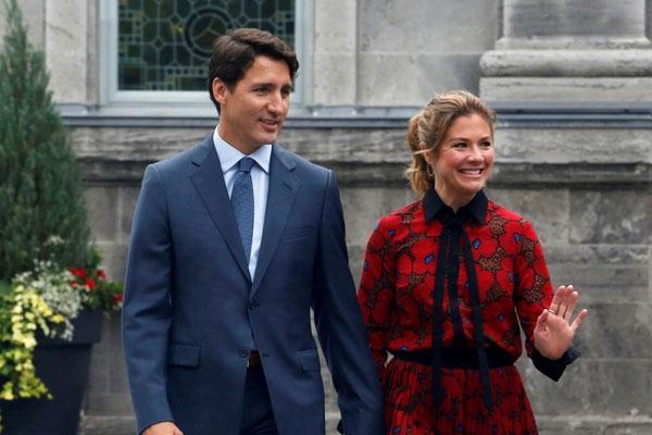 Vợ Thủ tướng Trudeau dương tính với virus corona-1