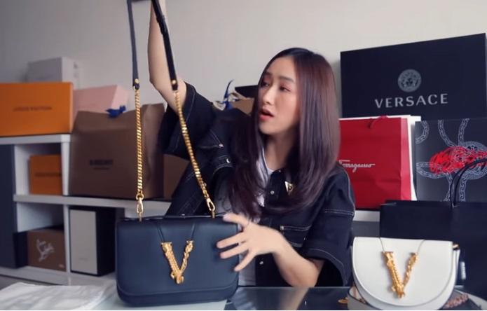 Hết Sĩ Thanh đập hộp túi fake đến Hà Thu dính nghi vấn đập hộp đồ hiệu đi mượn-4