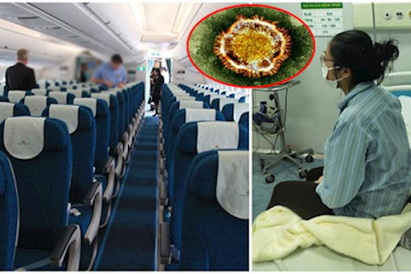 Thông tin về bệnh nhân thứ 45 dương tính Covid-19: Là nữ tiếp viên hàng không-1