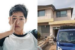 Song Joong Ki phá dỡ biệt thự tân hôn với Song Hye Kyo