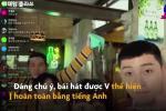 V (BTS) hát nhạc phim 'Tầng lớp Itaewon' bằng tiếng Anh