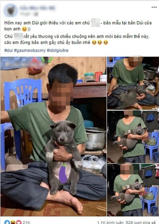 Lộ diện bảo mẫu cực xịn của chú chó hot nhất mạng xã hội Nguyễn Văn Dúi-2