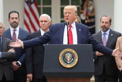 Tổng thống Trump ban bố tình trạng khẩn cấp quốc gia vì virus corona
