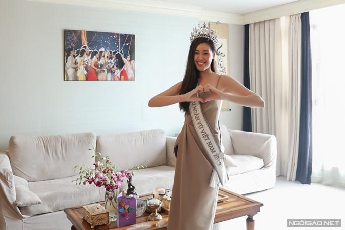 Căn hộ giải thưởng của hoa hậu Khánh Vân-1