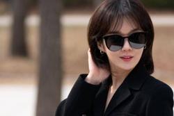 Jang Nara vẫn bận rộn đóng phim dù dịch bệnh Covid-19 hoành hành