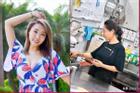 Sao nữ TVB làm phục vụ tại nhà hàng để kiếm sống