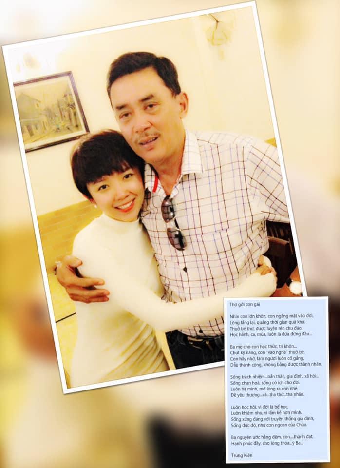 Xúc động với bài thơ bố Tóc Tiên viết gửi con gái, vừa ấm tình phụ tử vừa đầy đủ đạo lý làm người-1