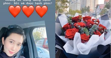 Đúng Valentine trắng, Thúy Ngân - Trương Thế Vinh lộ ảnh chứng minh hẹn hò