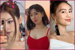 Thử thách #LipstickChallenge khuynh đảo Vbiz: Chi Pu thách đấu hội chị em nhưng Min và Khánh Linh mới 'max lầy'