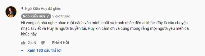 Ngô Kiến Huy phản pháo cực gắt khi bị cho là cố tình nhắc đến Khổng Tú Quỳnh trong ca khúc mới-7