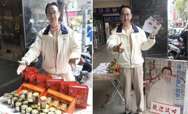 Nam diễn viên Sở Lưu Hương bán hàng rong kiếm sống ở tuổi 67-1