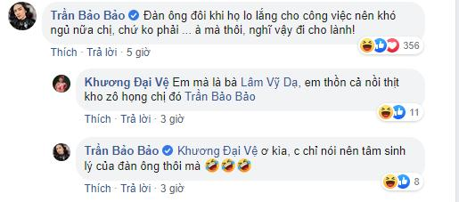 Lâm Vỹ Dạ khoe chồng tâm lý, BB Trần lập tức có hành động đốt nhà đồng nghiệp-4