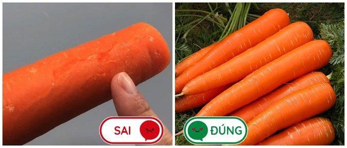 3 loại cà rốt thường thấy nhưng không nên mua khi đi chợ, nhiều người đến giờ vẫn chưa biết-1