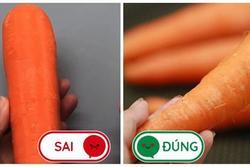 3 loại cà rốt thường thấy nhưng không nên mua khi đi chợ, nhiều người đến giờ vẫn chưa biết