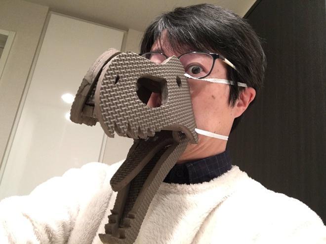 4 loại khẩu trang tự chế hài hước của người Nhật-2