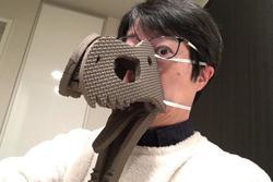 4 loại khẩu trang tự chế hài hước của người Nhật