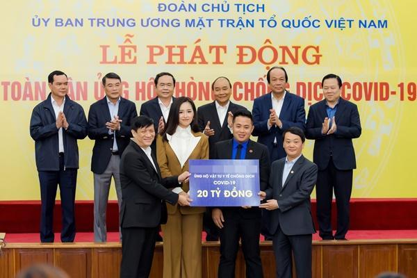 VZN News: Mai Phương Thúy gặp gỡ Thủ tướng trao 20 tỷ đồng chống đại dịch Covid-19-3