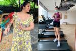Lê Phương lấy lại dáng sau thời gian bị chê béo ú, thông báo ngày comeback không còn xa