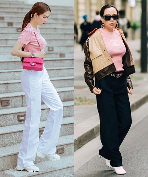 Đã giàu còn tiết kiệm: Phượng Chanel và Ngọc Trinh thường xuyên mượn hàng hiệu của nhau-10