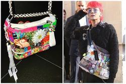 G-Dragon tô màu, vẽ hoa nữ tính lên túi Chanel 3.200 USD