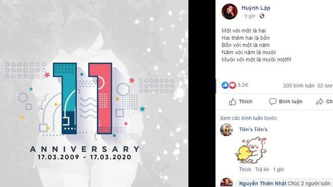 Huỳnh Lập và Hồng Tú kỷ niệm 11 năm bên nhau-1