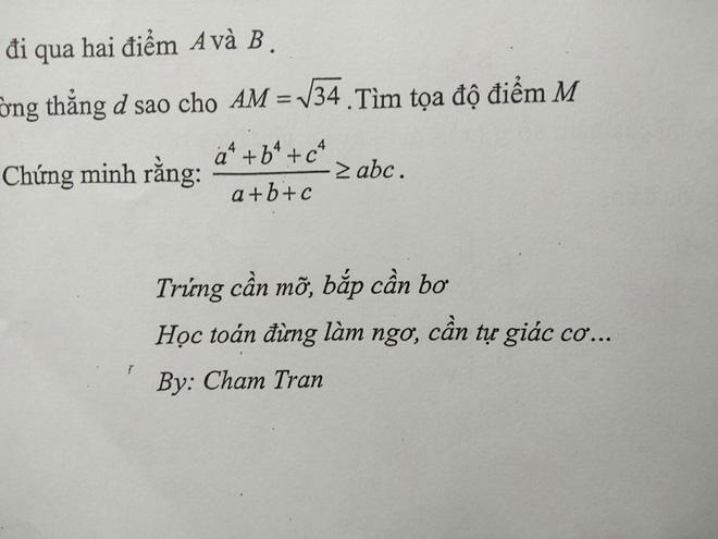 Giáo viên toán bắt trend nhanh hơn cả học sinh: Nhắc các em học chăm chỉ mà cũng tung thơ thả thính-1