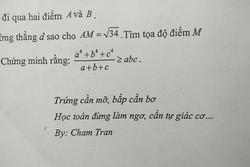 Giáo viên toán 'bắt trend' nhanh hơn cả học sinh: Nhắc các em học chăm chỉ mà cũng tung thơ thả thính