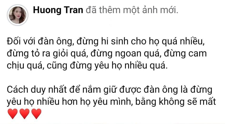 Triết lý tình yêu, vợ cũ Việt Anh bị dân mạng đá đểu cuộc hôn nhân đổ vỡ-1