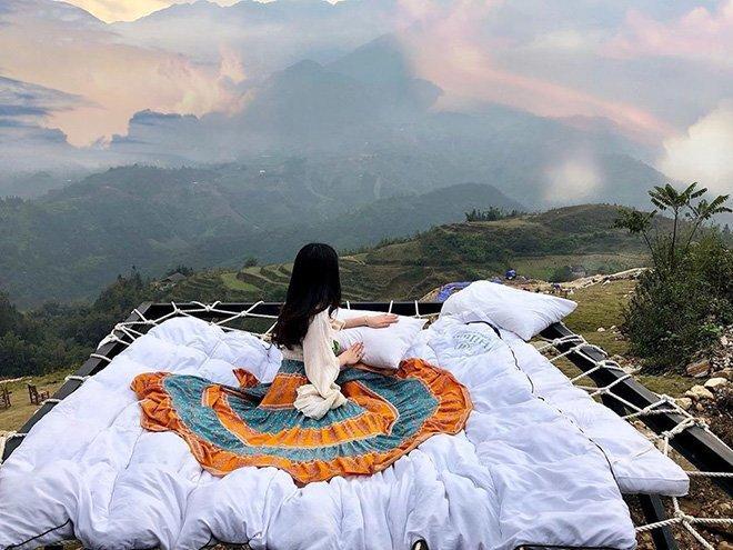 Mê mẩn những chiếc giường giữa trời hút hồn tín đồ sống ảo-2