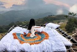 Mê mẩn những chiếc giường giữa trời hút hồn tín đồ sống ảo