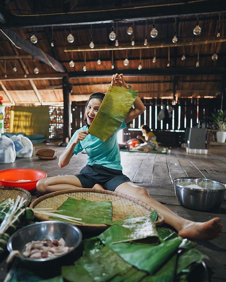 Choáng ngợp với nhà sàn dài 41m ở Đắk Lắk của hoa hậu HHen Niê-6