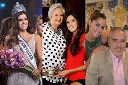 Gia tộc đẹp như tranh của Hoa hậu Hoàn vũ 'nghiêng nước nghiêng thành'