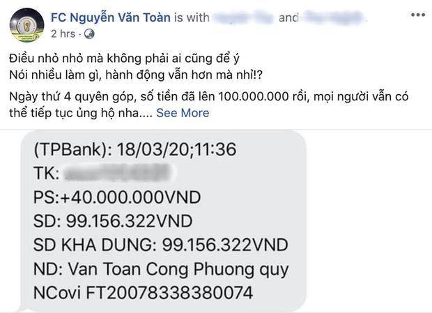 Công Phượng âm thầm quyên góp, dàn sao tuyển Việt Nam tạo làn sóng đẩy lùi dịch Covid-19-1