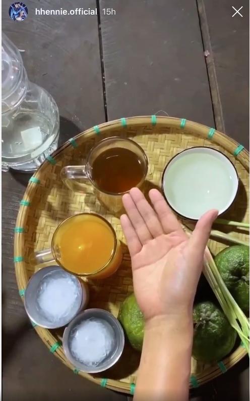 Học hoa hậu HHen Niê trổ tài làm trà ô long cam sả, chẳng cần ra hàng mua nữa rồi!-3