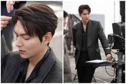 Lee Min Ho 'đốn tim' fan với loạt ảnh chụp vu vơ ở hậu trường phim mới