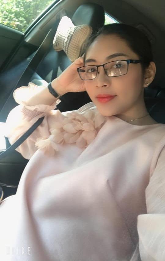 Hoa hậu Đặng Thu Thảo tiết lộ giới tính song thai-1
