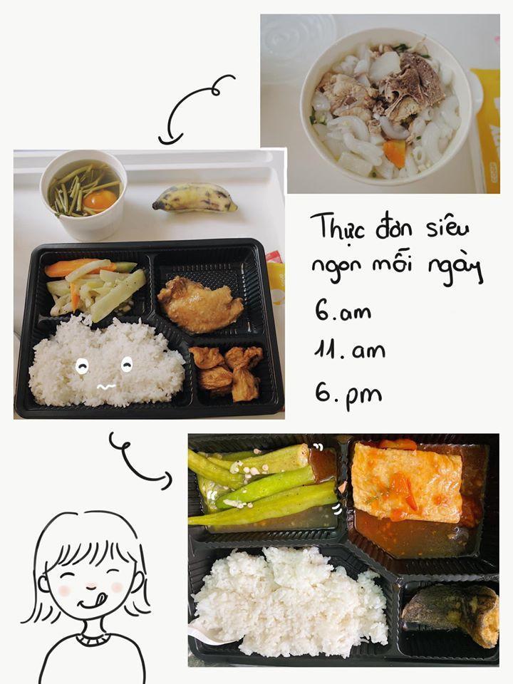 Sao Việt đánh giá thế nào về khẩu phần ăn được cấp trong khu cách ly tập trung?-8