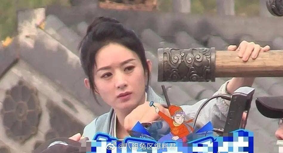 Triệu Lệ Dĩnh bị bóc mẽ nhan sắc già nua khi không có photoshop-1