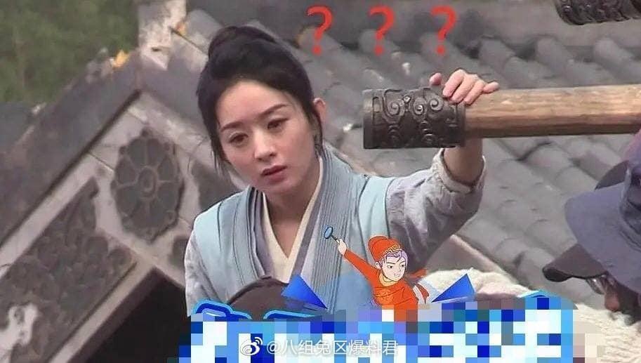 Triệu Lệ Dĩnh bị bóc mẽ nhan sắc già nua khi không có photoshop-2