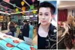 Hoàng Thùy Linh - Gil Lê mặc áo đôi cùng đi ăn hàng bất chấp dịch Covid-19