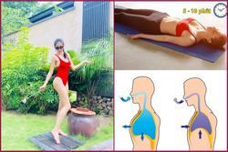 Thủy Tiên tiết lộ cách giảm cân chỉ nhờ thở học được từ Công Vinh, sau 2 - 3 tiếng có thể giảm 2kg