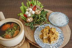 Thực đơn mâm cơm thuần chay dễ chế biến cho người bận rộn