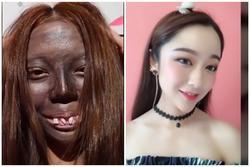 Đỉnh cao make-up: Biến cô gái như ăn mày thành hot girl trong 'phút mốt'